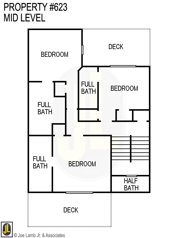 Floorplan: 623 Mid Level