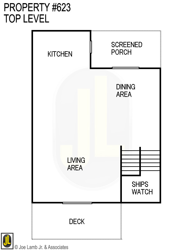 Floorplan: 623 Top Level