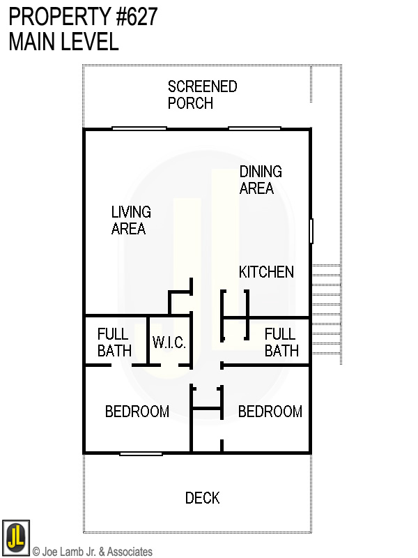 Floorplan: 627 Main Level