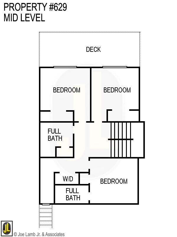 Floorplan: 629 Mid Level