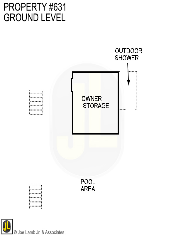 Floorplan: 631 Ground Level