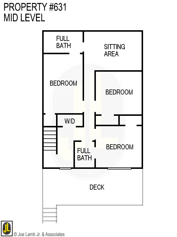 Floorplan: 631 Mid Level