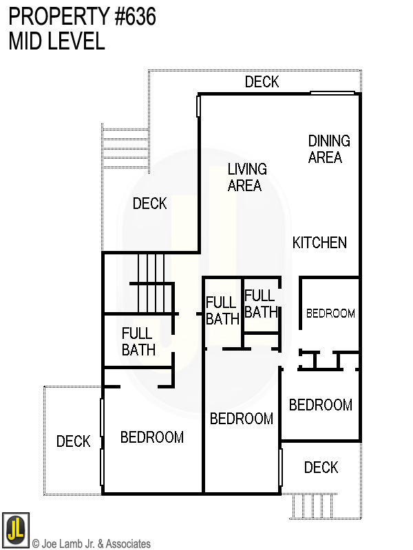 Floorplan: 636 Mid Level