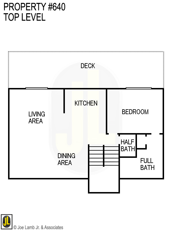 Floorplan: 640 Top Level