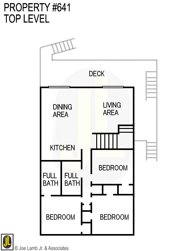 Floorplan: 641 Top Level