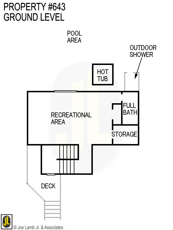 Floorplan: 643 Ground Level