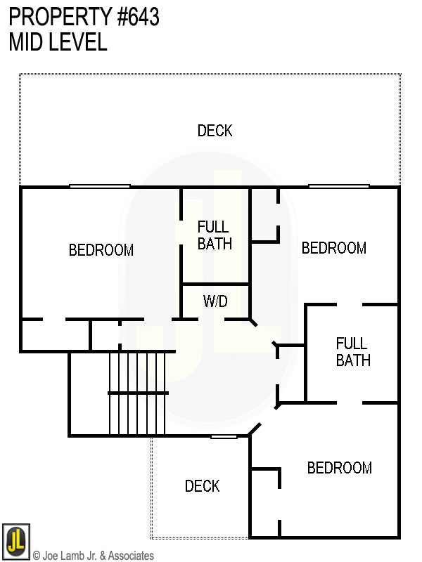 Floorplan: 643 Mid Level