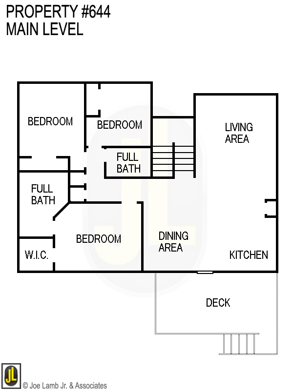 Floorplan: 644 Main Level