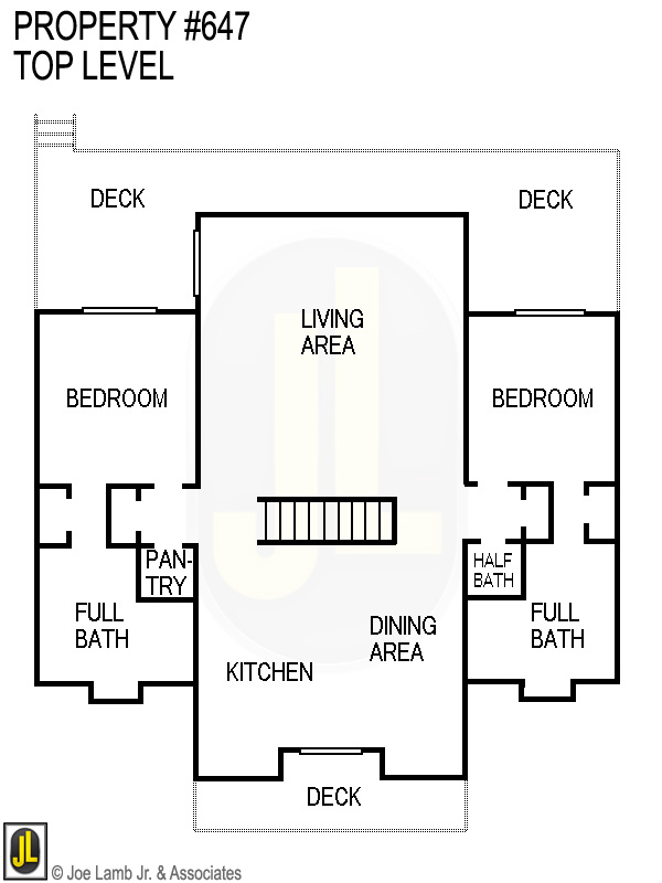 Floorplan: 647 Top Level