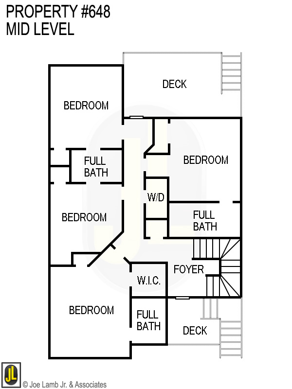 Floorplan: 648 Mid Level