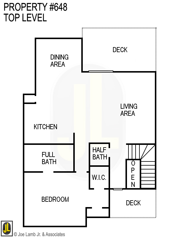 Floorplan: 648 Top Level