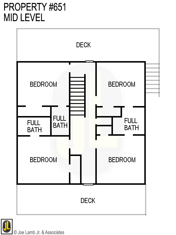 Floorplan: 651 Mid Level