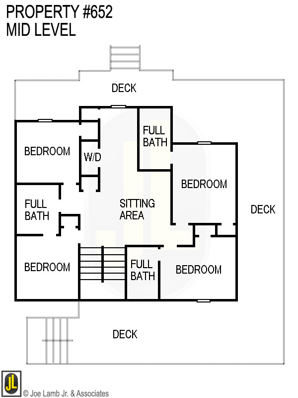 Floorplan: 652 Mid Level
