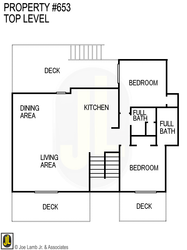 Floorplan: 653 Top Level