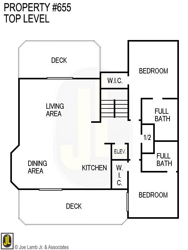 Floorplan: 655 Top Level