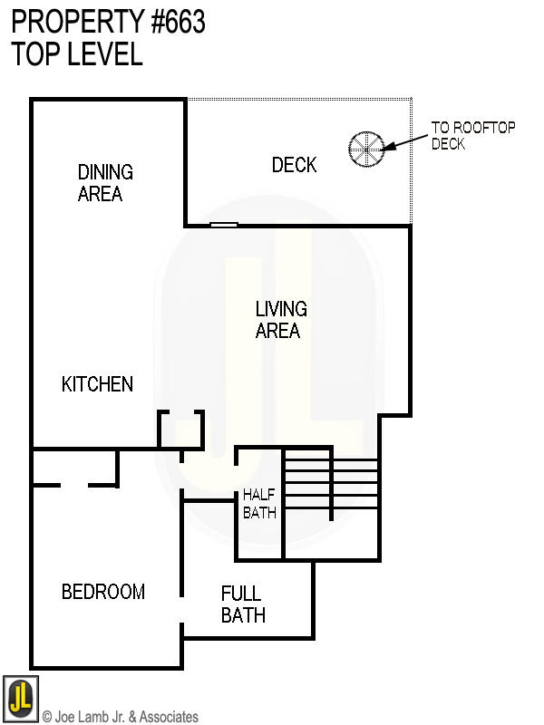 Floorplan: 663 Top Level