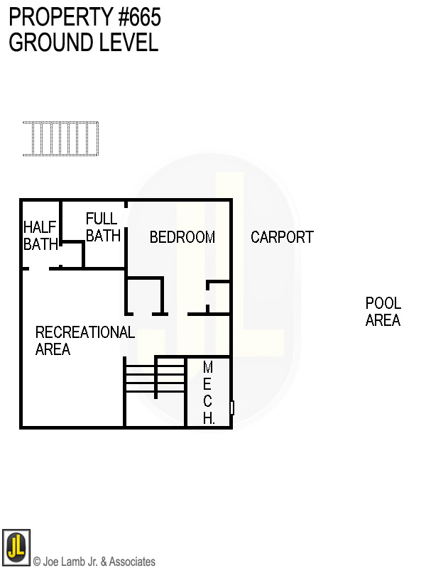 Floorplan: 665 Ground Level