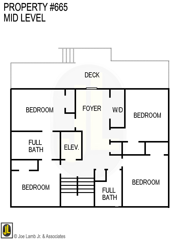Floorplan: 665 Mid Level