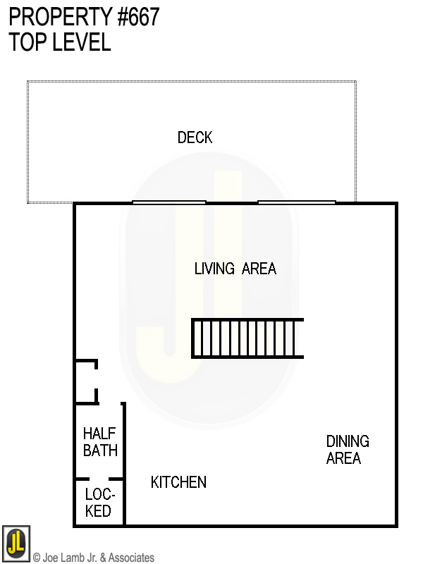 Floorplan: 667 Top Level