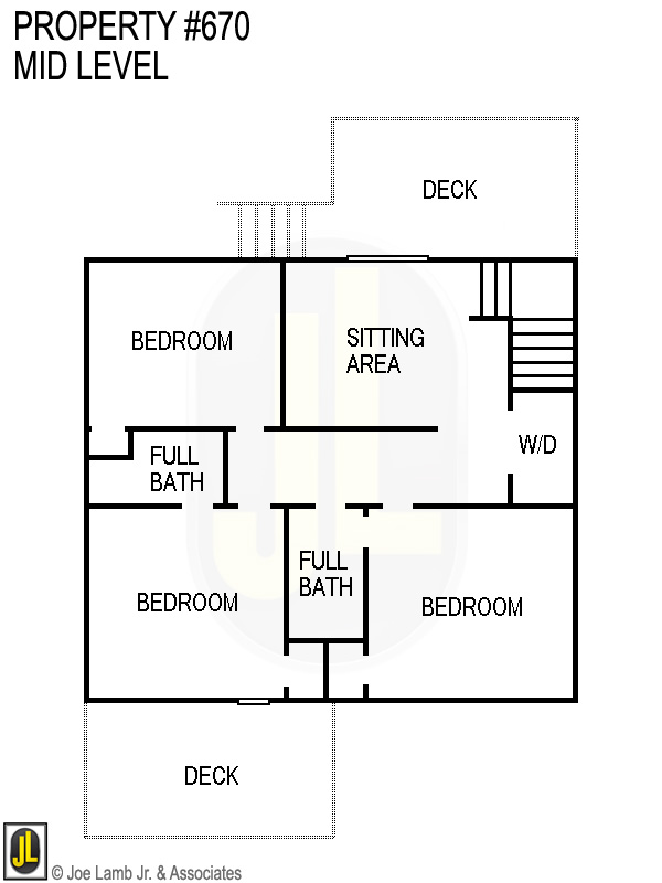 Floorplan: 670 Mid Level