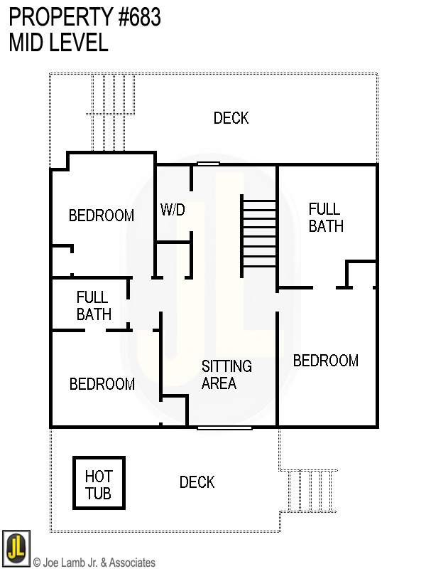 Floorplan: 683 Mid Level