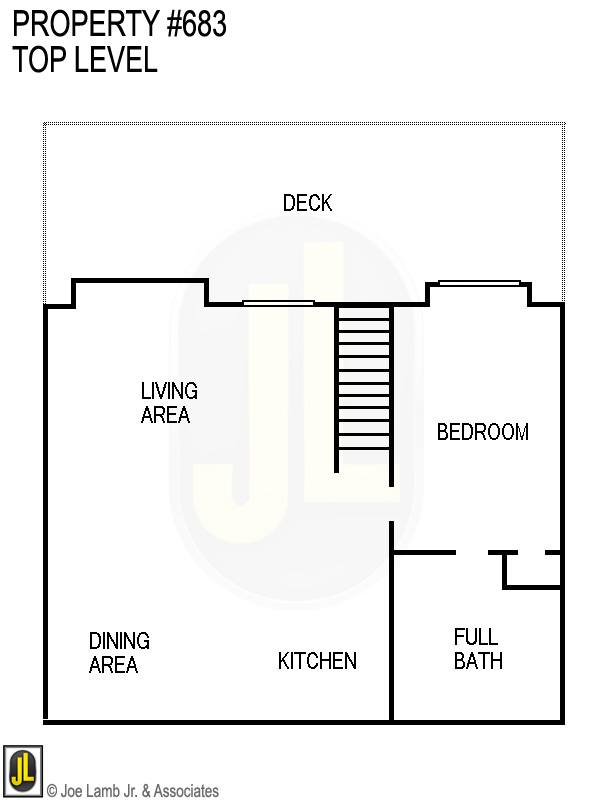 Floorplan: 683 Top Level