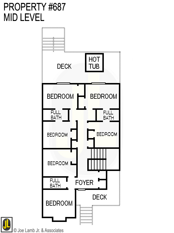 Floorplan: 687 Mid Level