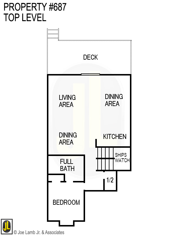 Floorplan: 687 Top Level