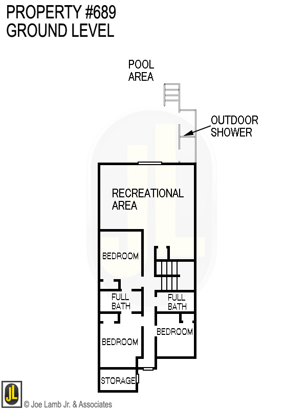 Floorplan: 689 Ground Level