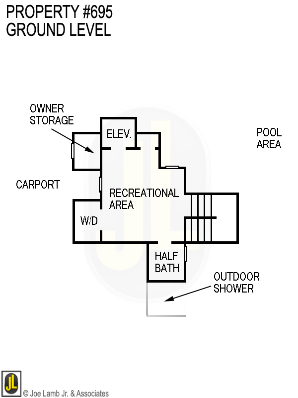 Floorplan: 695 Ground Level