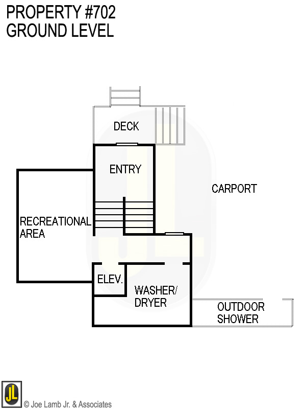 Floorplan: 702 Ground Level