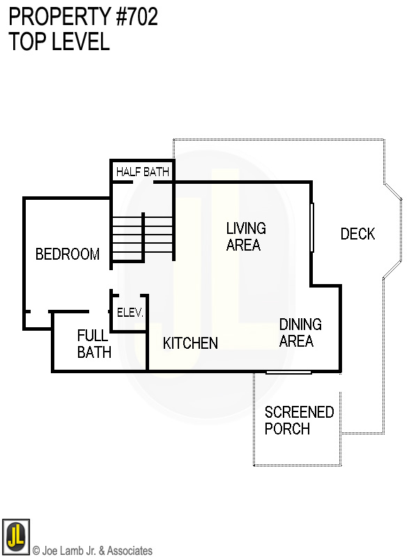 Floorplan: 702 Top Level