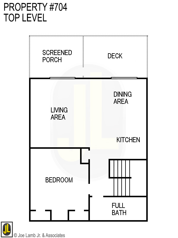 Floorplan: 704 Top Level