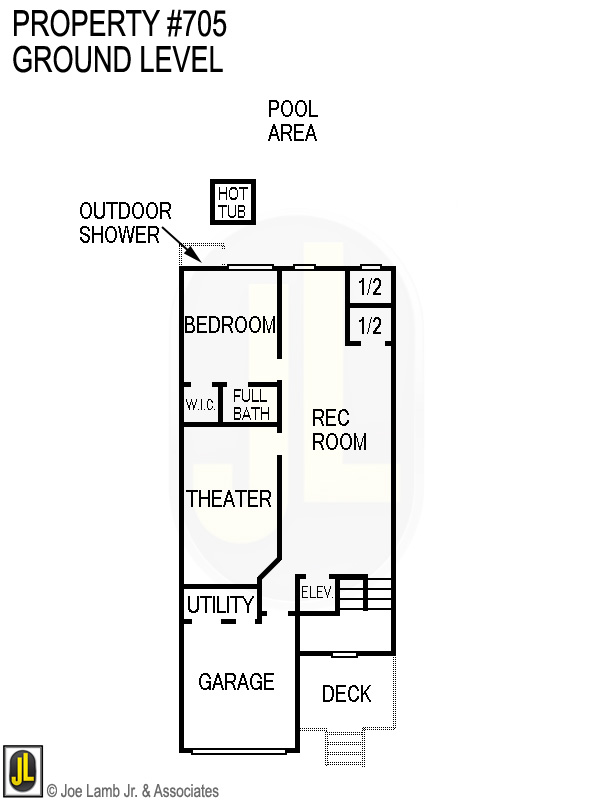 Floorplan: 705 Ground Level