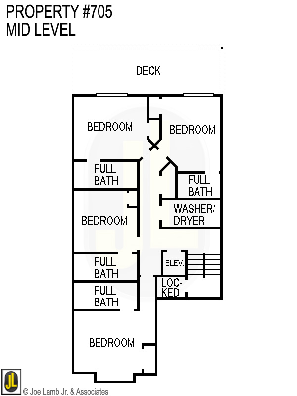 Floorplan: 705 Mid Level