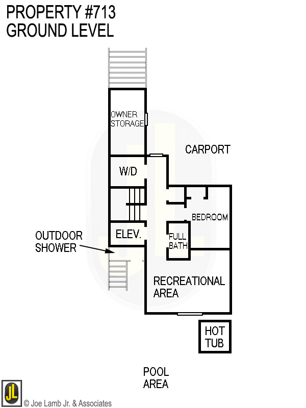Floorplan: 713 Ground Level