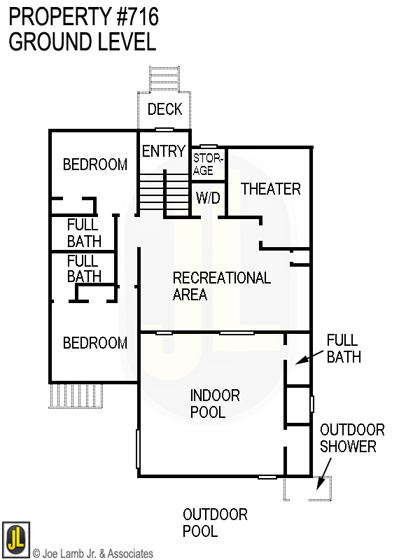 Floorplan: 716 Ground Level