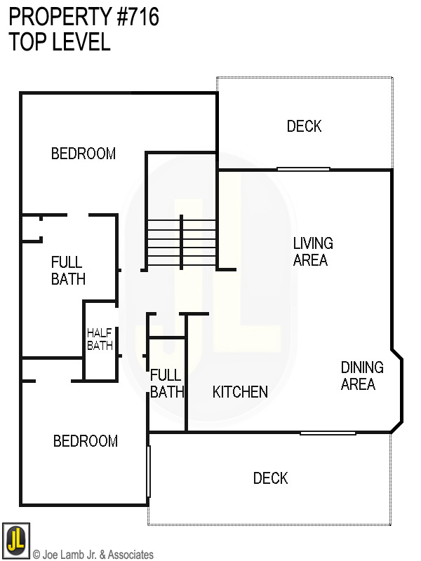 Floorplan: 716 Top Level