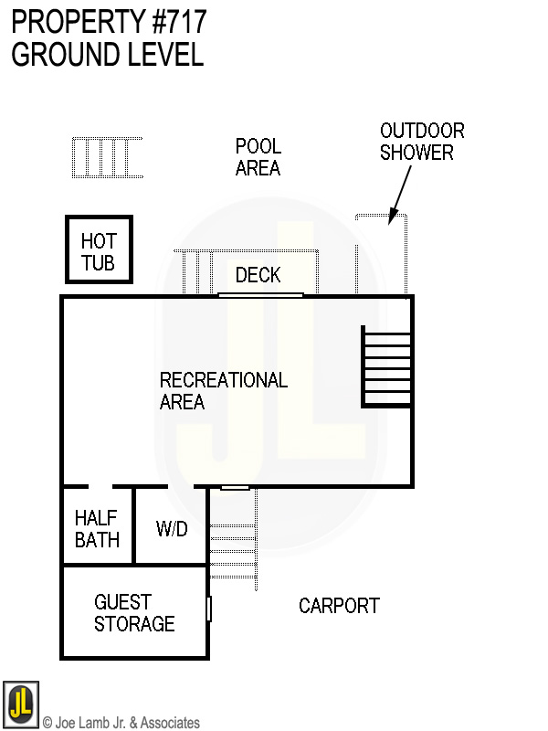 Floorplan: 717 Ground Level