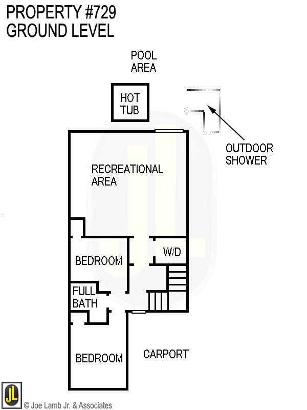 Floorplan: 729 Ground Level