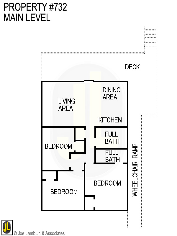 Floorplan: 732 Main Level
