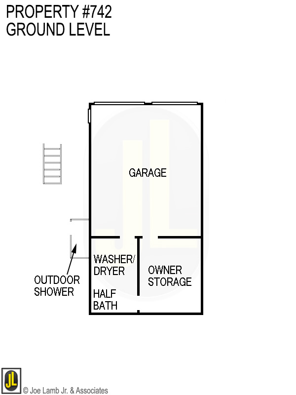 Floorplan: 742 Ground Level