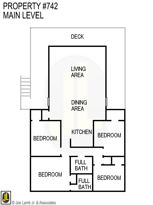 Floorplan: 742 Main Level