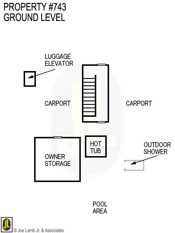 Floorplan: 743 Ground Level