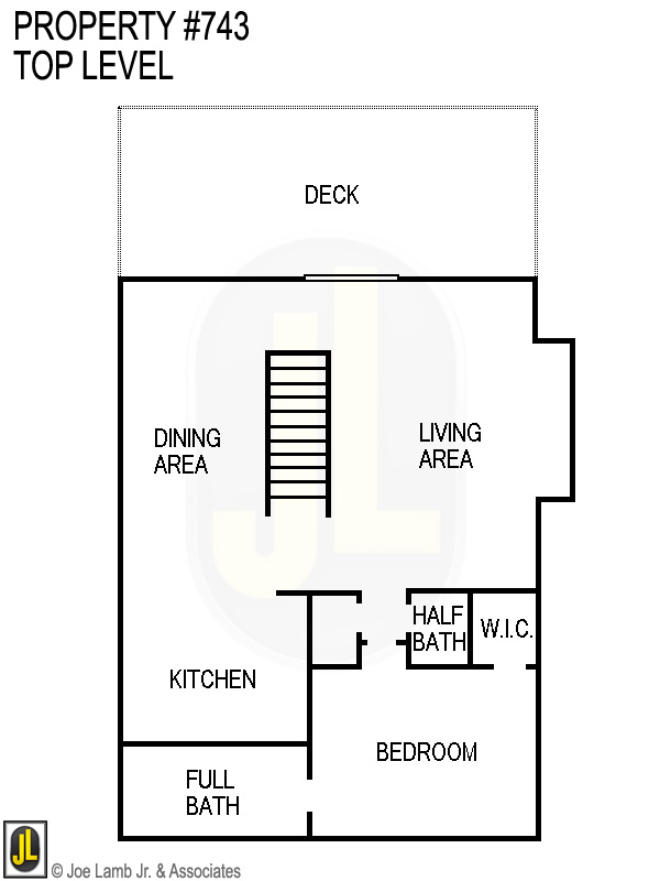 Floorplan: 743 Top Level