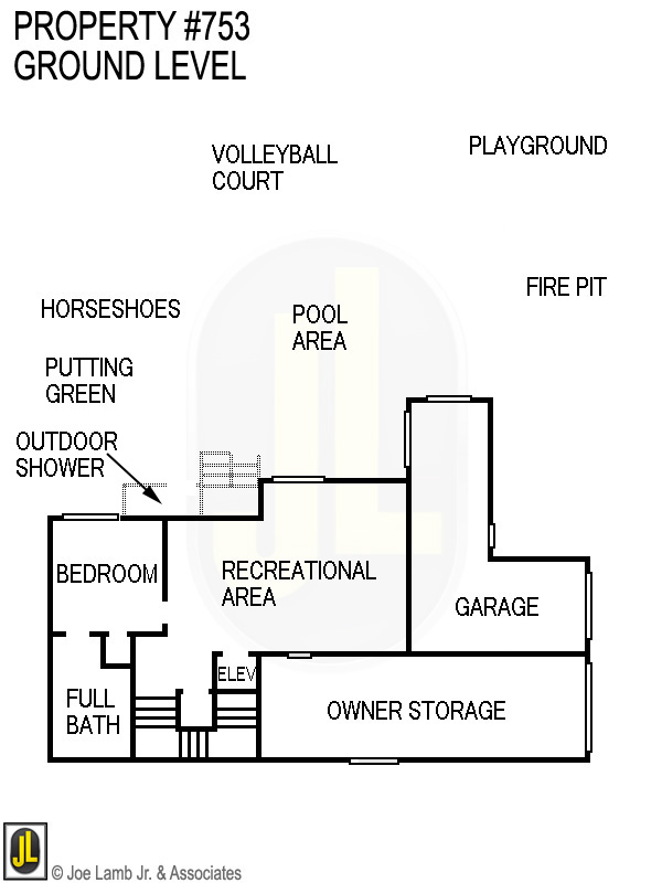Floorplan: 753 Ground Level Updated