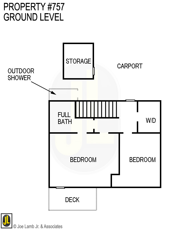 Floorplan: 757 Ground Level