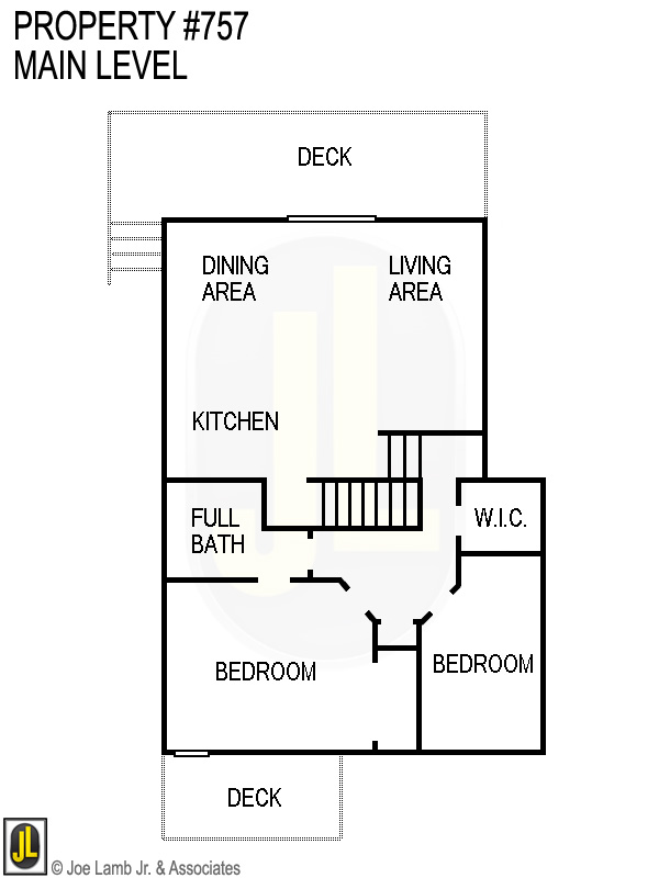 Floorplan: 757 Main Level