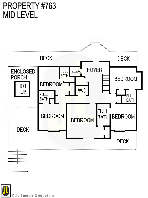 Floorplan: 763 Mid Level