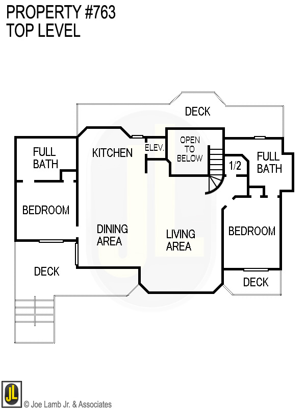 Floorplan: 763 Top Level